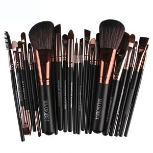 ALISIAM 22 pcs maquillage cosmétique brosse blusher fard à paupières brosses kit