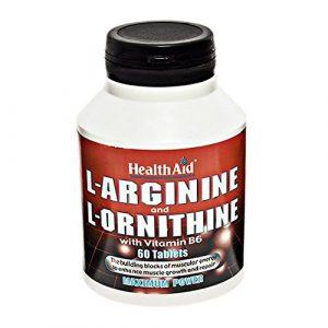 ARGININA ORNITHINE VIT.B6 CAP 60