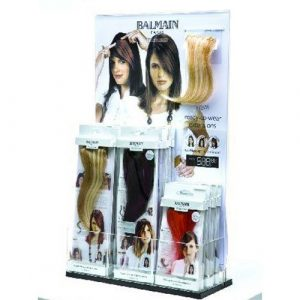 Balmain Presentoir Hair Make Up Strass