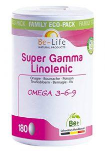 Be-Life Super Gamma Linolenic – 180 caps.