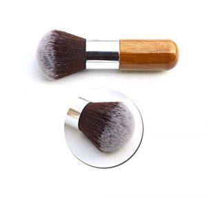 Cdet 1PC Pinceau rond Professionnel Teint Eyebrow Shadow Makeup Blush Kit Pinceau Ensemble brosse à maquillage Brosse à maquillage Maquillage Outils