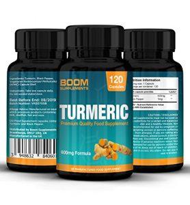 Curcuma extra fort 600mg | 120 capsules de curcuma bio gelule | Traitement pour 4 mois complets | Perte de poids, anti-inflammatoire et antioxydant naturel | Puissante absorption de curcumine | Sans dangers et efficace | Comprimés antioxydants les plus vendus | Curcuma Turmeric | Garantie 30 jours satisfait ou remboursé (l'emballage peut être différent)