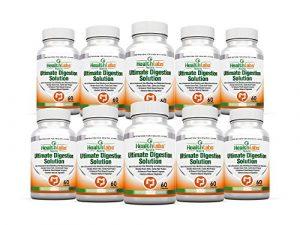 Des Enzymes Digestives Améliorent la Digestion Garantie de Remboursement de 90 Jours (Ensemble de 10)
