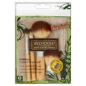 Eco Tools 5 Piece Bamboo Brush Set – Paquet de 6