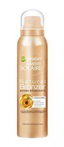 Garnier Ambre Solaire Natural Bronzeur Brume Bronzante Visage & Corps 150 ml