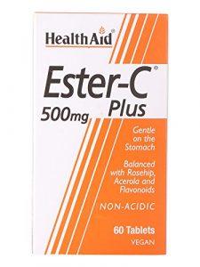 HealthAid Ester C 500mg Plus – 60 Tablets