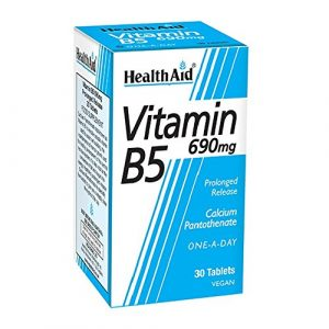 Healthaid Vitamine B5 (pantothénate de calcium) 750mg