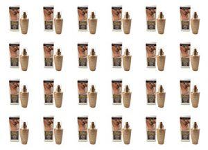 IncaRose–Maxi Bronze Body Sun Drops 24boîtes de 125ml Traitement autoabbronzante Ultra rapide idéal pour une tannerie Intense et lumineuse
