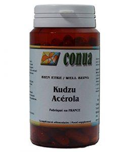 Kudzu root 120 gélules, Acerola vitamine c Stop aux dépendances poudre en gélule fort