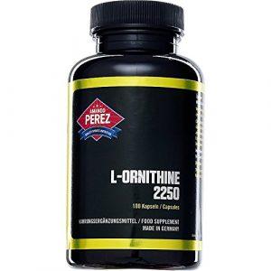 L-ornithine – 2250 mg par dose – 100 capsules – acides aminés anabolisants pour les athlètes de performance et -bodybuilder l'avenir