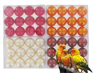 Lot de 4 boîtes de 12 perles d'huile de bain – EXOTIQUES