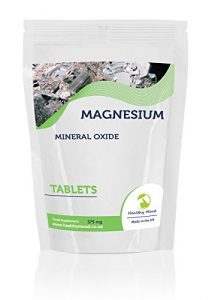 MAGNÉSIUM Minéraux Oxyde 375 Mg 30/60/90/120/180/250 Comprimés Pilules Naturel qualité Produits Nutrition Nourriture Saine Compléments SAIN HUMEUR GB – 7