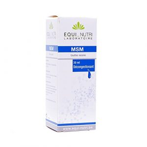 MSM GOUTTES – Solution nasale – Equi-nutri