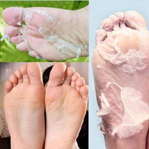 Tefamore 1Pair Exfoliant Peel Foot Mask Baby Pied doux Supprimer Callus Hard Dead Skin