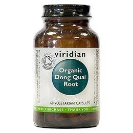 Viridian Organic Dong Quai Root 400mg 60 veg bouchons