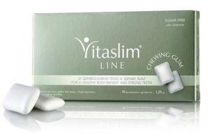 Vitaslim LINE Chewing-Gum – Le contrôle du poids et la santé des dents (sans sucre) 10pcs