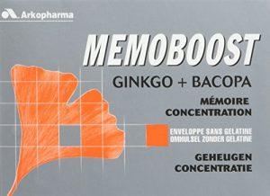 Arkopharma Memoboost Ginkgo + Bacopa 30 Gélules – Lot de 2
