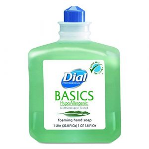 Basics Foaming Hand Soap Refill, 1000 mL, Honeysuckle