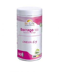 Be-Life Borrago 500 BIO – 140 caps.
