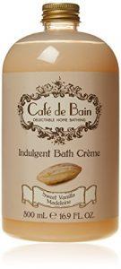 Cafe de Bain Indulgent Bath Creme 500 ml, Sweet Vanilla Madeleine