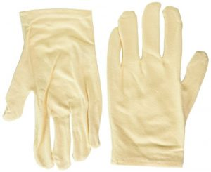 Earth Therapeutics Moisturizing Hand Gloves, Solid Color Natural 1 Pair by Earth Therapeutics