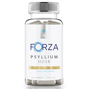 FORZA Psyllium Husk Capsules – 100% Pure & Natural Fibre – 540 Capsules