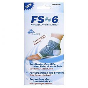 FS6manches de compression du pied L/XL Taille de 9–13(Pack de 2)
