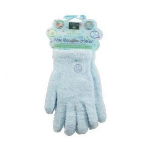 Gloves, Aloe Infused, Blue, pair ( Multi-Pack) by Earth Therapeutics