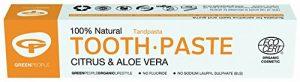 Green People – Toothpaste – Citrus & Aloe Vera – 50ml (Case of 12)