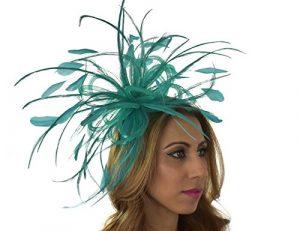 Hats By Cressida – Capeline – Femme Vert jade taille unique