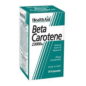 HealthAid Beta-Carotene – 30 Capsules