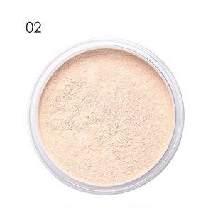Homim Poudres de Finition et Fixateurs Maquillage Minéral Blanchiment Anti-huile pour Éclaircir Mat,02