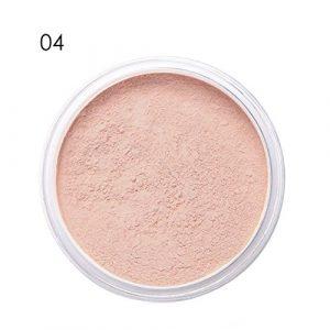 Homim Poudres de Finition et Fixateurs Maquillage Minéral Blanchiment Anti-huile pour Éclaircir Mat,04