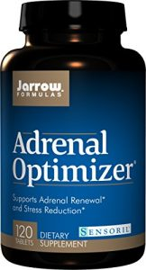 Jarrow Formulas Optimiseur Adrénal (Adrenal Optimizer) x120caps – Fatigue Adrénale
