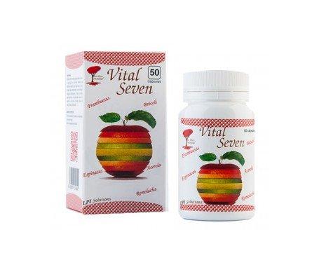 Le Parc Institut – Vital Seven. Nutriments vitalisants et anti-oxydants. Amélioration de la forme et de l'humeur. 50 gélules.