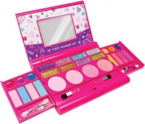 Make it Up Kit De Maquillage De Filles – Sécurité Testée – Non Toxique – Compact Déplie Palette De Maquillage Avec Miroir