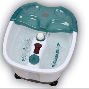 Massage Des Pieds Intelligent Pédicure De Pied Massage Automatique Bulle Pied Massage Avec Infrarouge