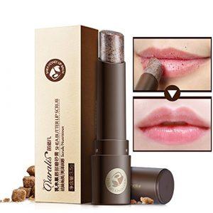 Natural Moist Moisturizing Lip Scrub, hanyia Hydratant Lip Exfoliator Organic Gommage iating Sugar Scrubs Rouge à lèvres