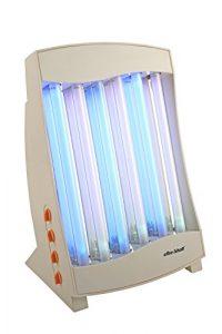 TKG Solarium pour le Visage 6 Tubes UV-A Bleu/Rose 105 W
