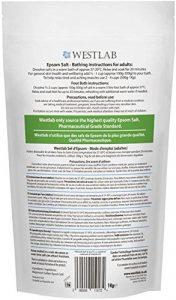 Westlab – Epsom – Sel de bain – 2 x 5 kg