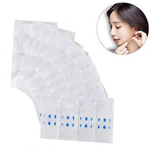 Alian – Beauté et Parfum 40 PCS Lot Patch de Levage de Visage Invisible Sticker Artefact Ascenseur Mince Thin Face Sticker Ruban Adhésif Maquillage Visage Outil V-Face Stickers Petits Visage Stickers