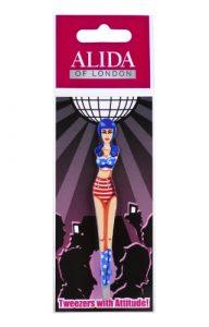 Alida of London Pince à épiler avec Attitude Kitty