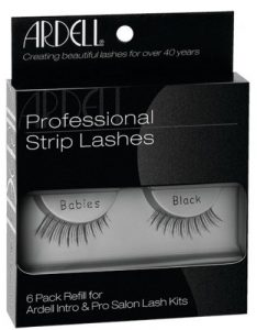 Ardell Invisibands False Eyelashes – Babies Black 6-Count by Ardell