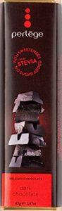Barre chocolat Noir Sans Sucre Ajouté Avec Stevia
