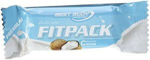 Best Body Nutrition Barre Nutritive Délicate Fitpack 24x30g barre Coco
