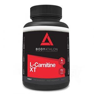 Bodyathlon L-Carnitine Extreme XT – 90 gélules 750 mg – Bruleur de Graisses Extra Fort