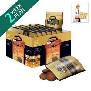 Cookie Diet Dr Siegal – 4 Semaines plan (chocolat brownie saveur/ crêpes d'érable saveur/ cannelle gruau saveur) – coupe-faim