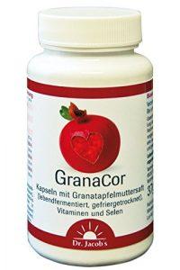 DR JACOBS – Granacor, jus de Grenade lyophilisé – 60