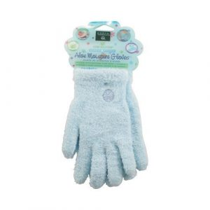 Earth Therapeutics: Aloe Infused Moisture Gloves, Blue (3 pack) by Earth Therapeutics