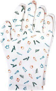Earth Therapeutics Moisturizing Hand Gloves with Garden Prints ( Multi-Pack) by Earth Therapeutics